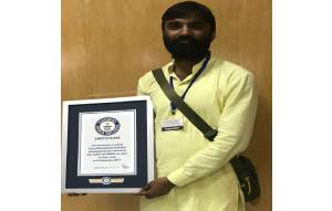 Ayurvedic-Dr-Sanjay-Maheshwari-Guiness Book of World Records